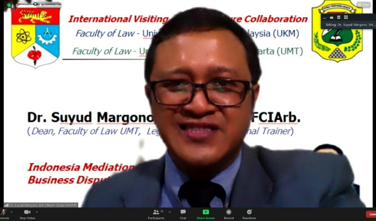 Dosen Kampus di Asia Tenggara Bertukar Ilmu di ASEAN Lecture Community